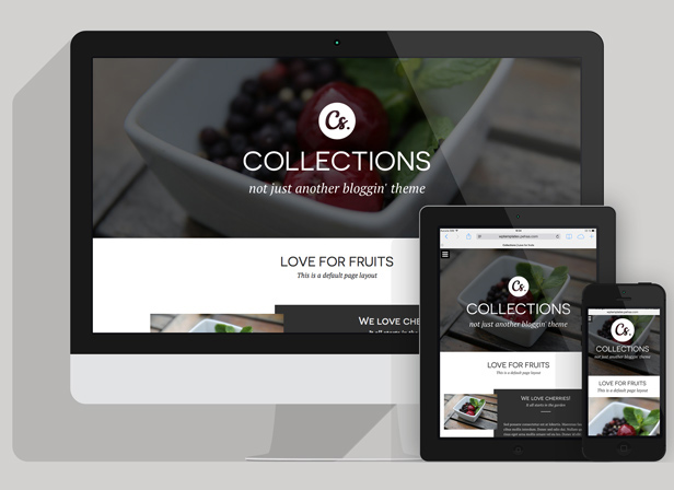 responsive Collections   Minimal Multipurpose Blogging Theme (Personal)