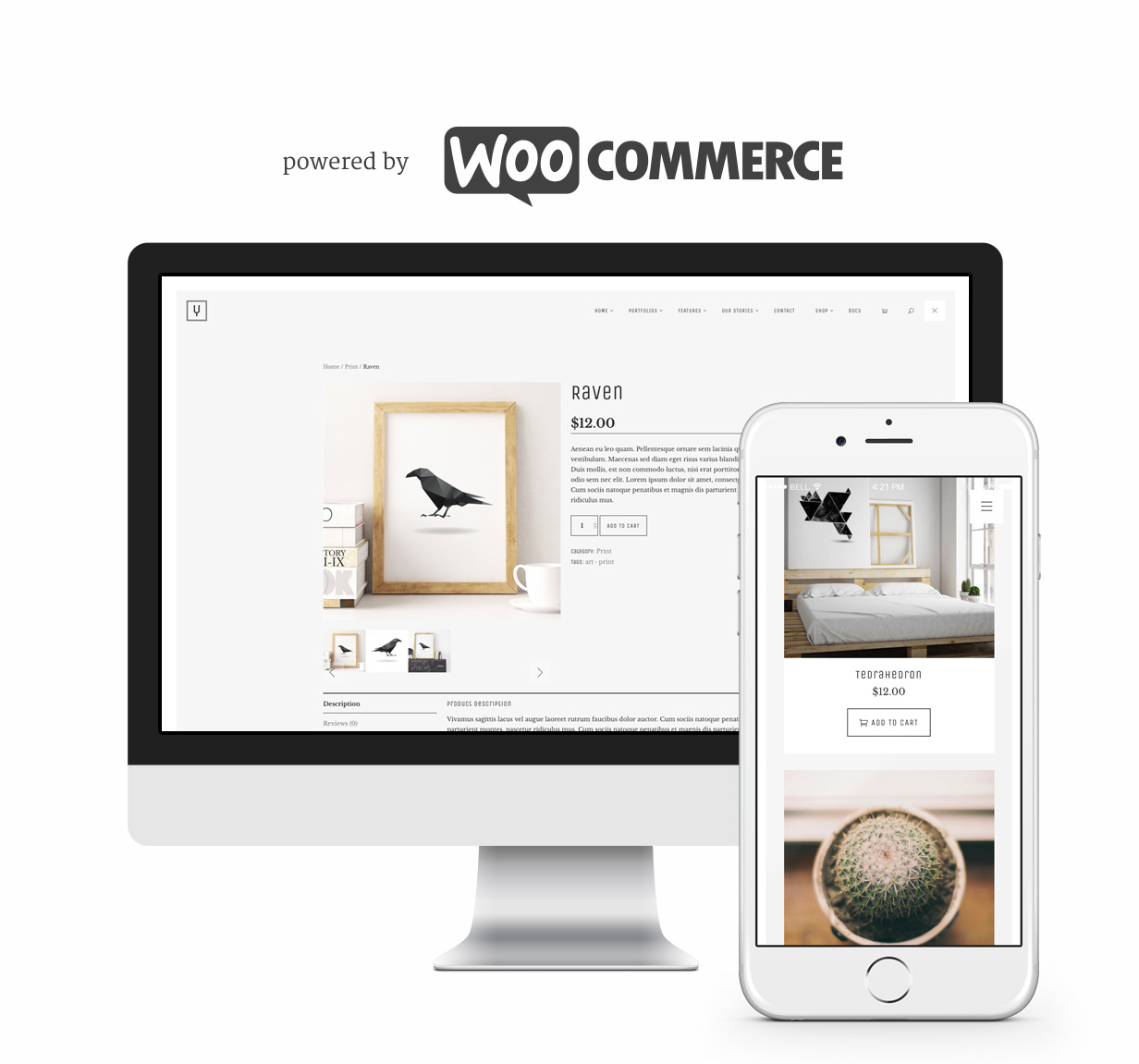 Powered by WooCommerce.